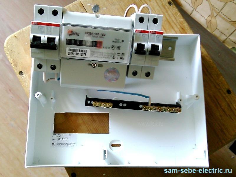 Замена электросчетчика с