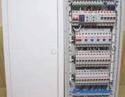 Однофазный электрощит с двумя реле напряжения УЗМ-51М