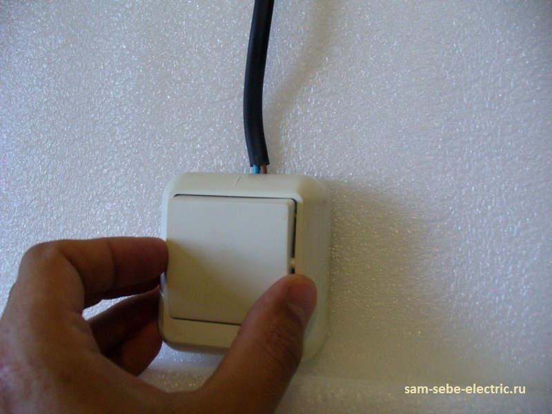 Выключатель наружной установки